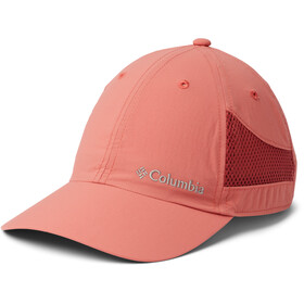 Columbia Tech Shade Hat dark coral